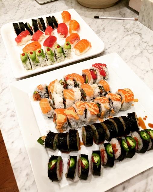 Finished Sushi